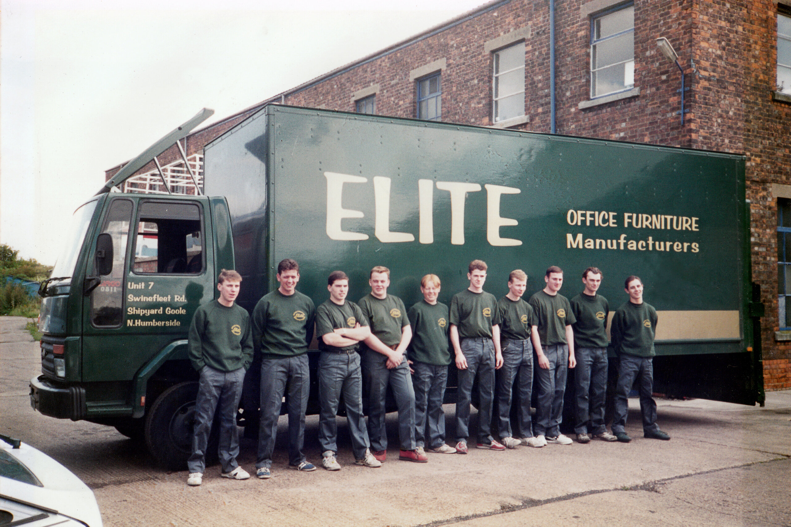 Elite Line up in 1995