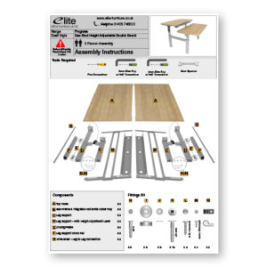 Progress Assembly Instructions Front Cover