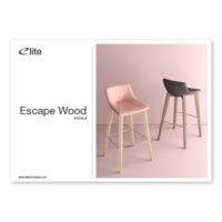 Escape Wood Stool Flyer Front Cover