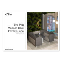Evo Plus Medium Back Privacy Panel Flyer Front Cover