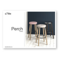 Perch Stools Flyer Front Cover