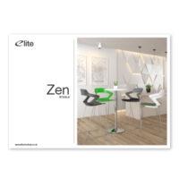 Zen Stools Flyer Front Cover