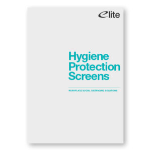 Office Hygiene Protection Screens Brochure Front Cover