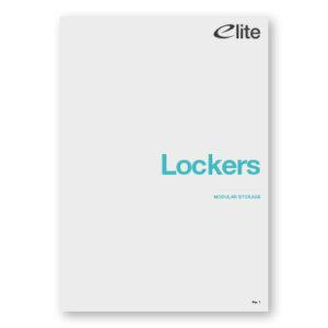 Modular Lockers Brochure Front Cover