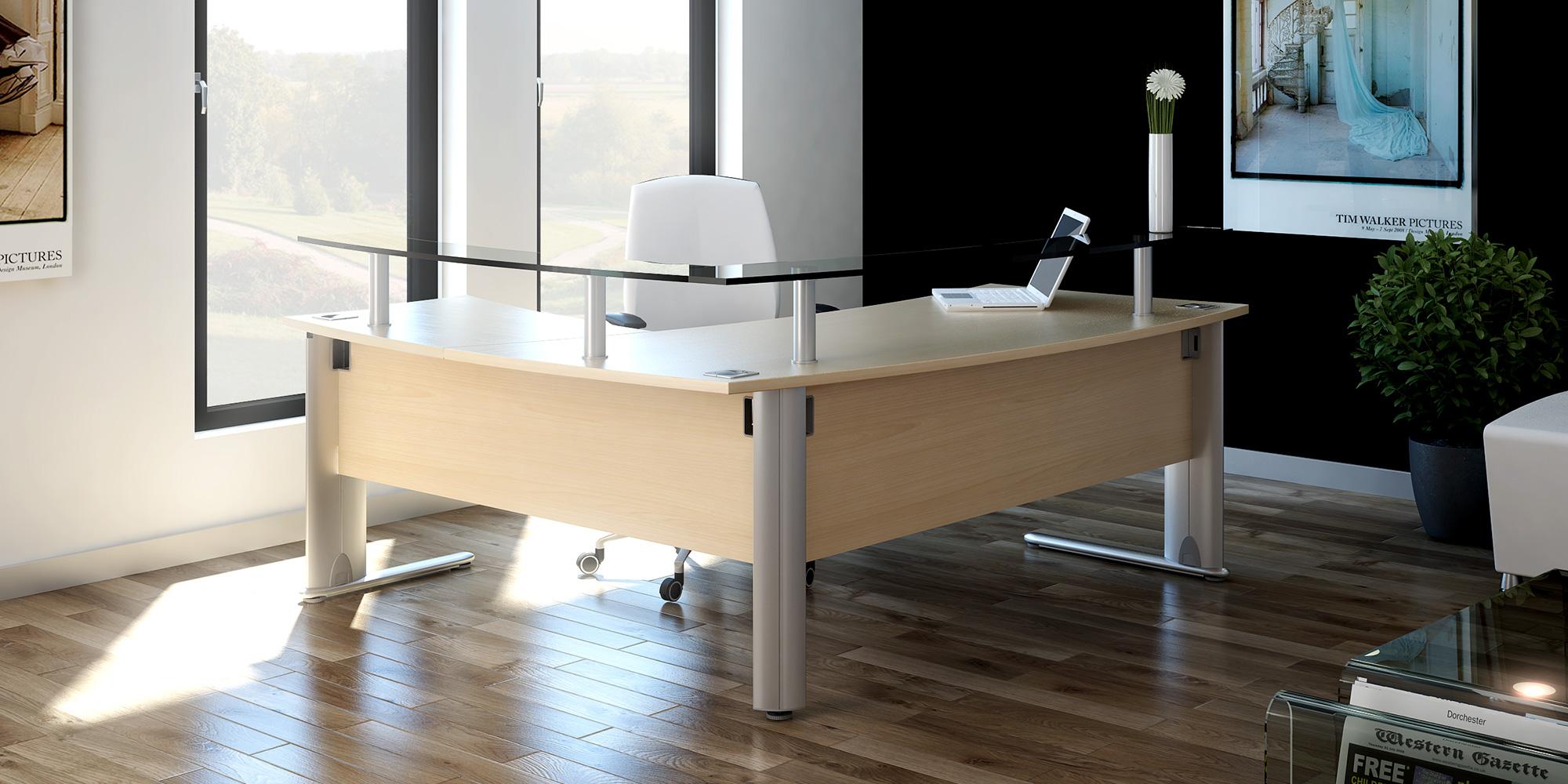 Desktop Shelves Roomset