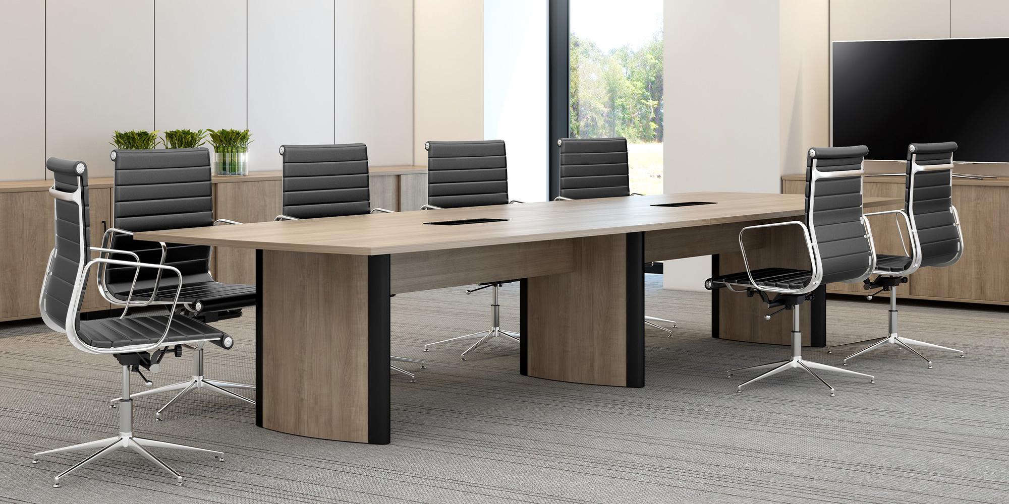 Aerofoil Boardroom Table Roomset