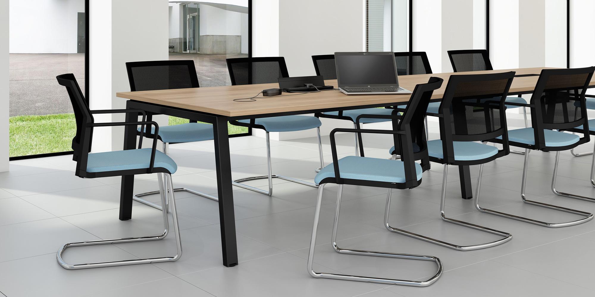Linnea Boardroom Table Roomset