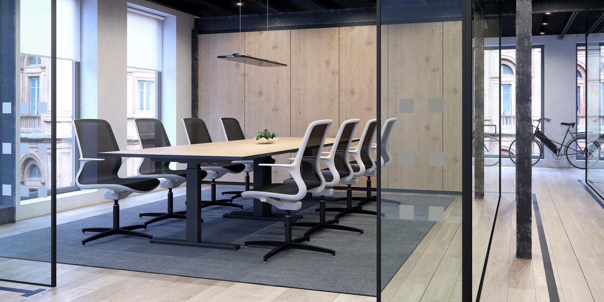 Progress Boardroom Table Roomset