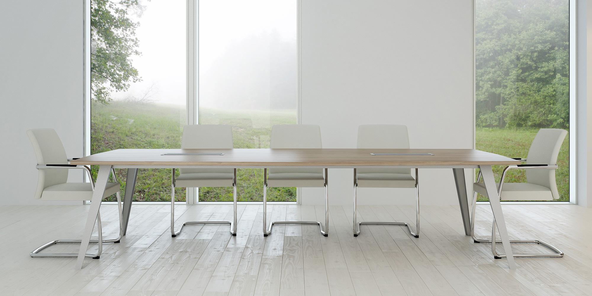 Reflex Boardroom Table Roomset