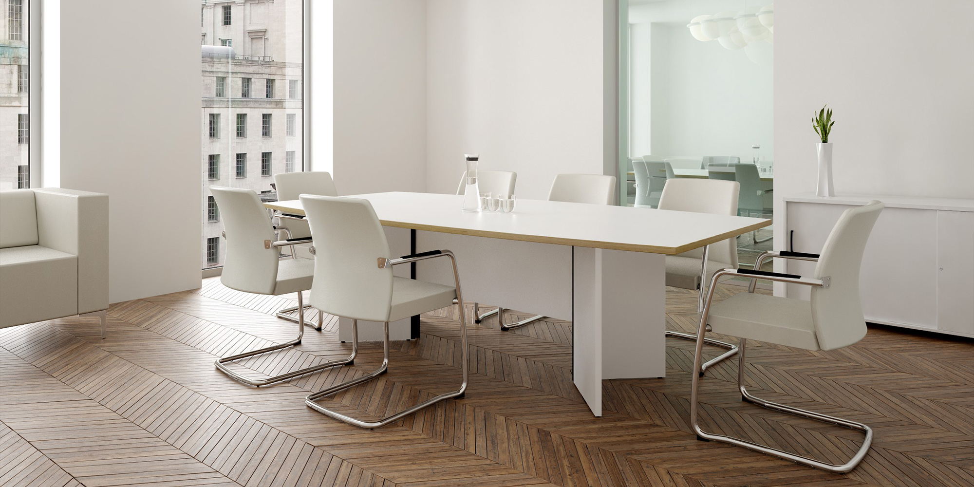 Windsor Boardroom Table Roomset