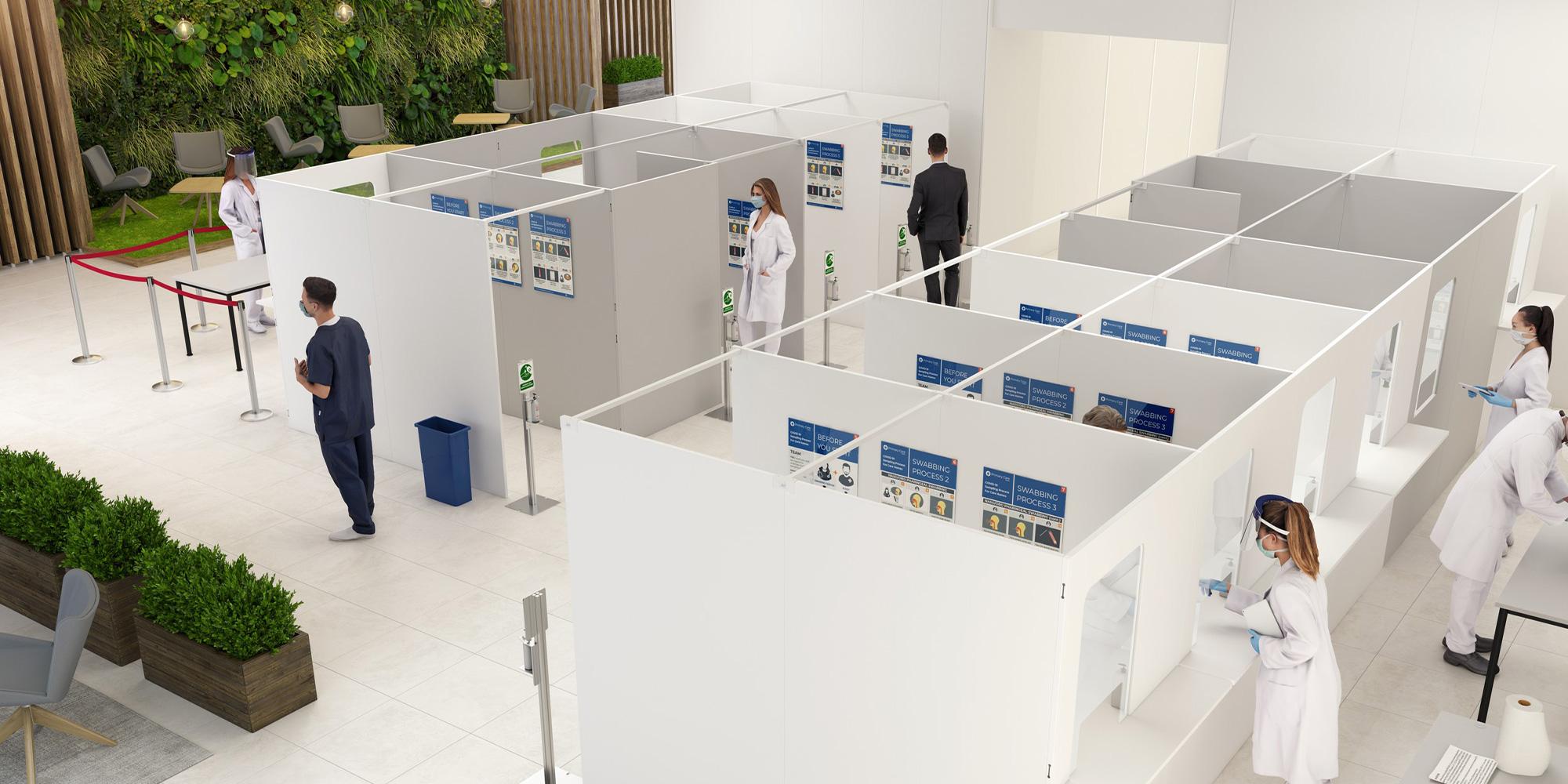 Pathogen Testing Booth