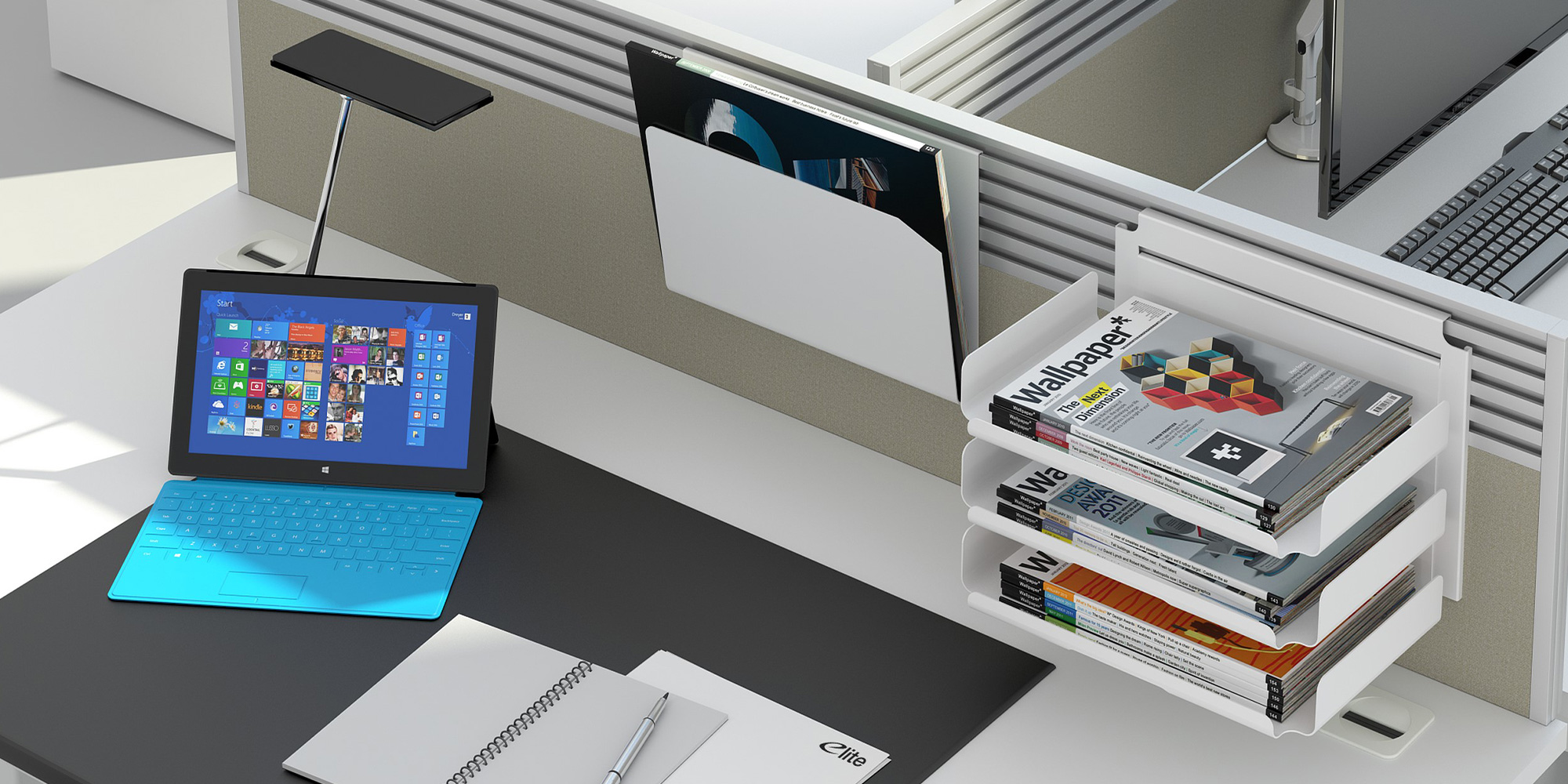 Screen Accessories Roomset