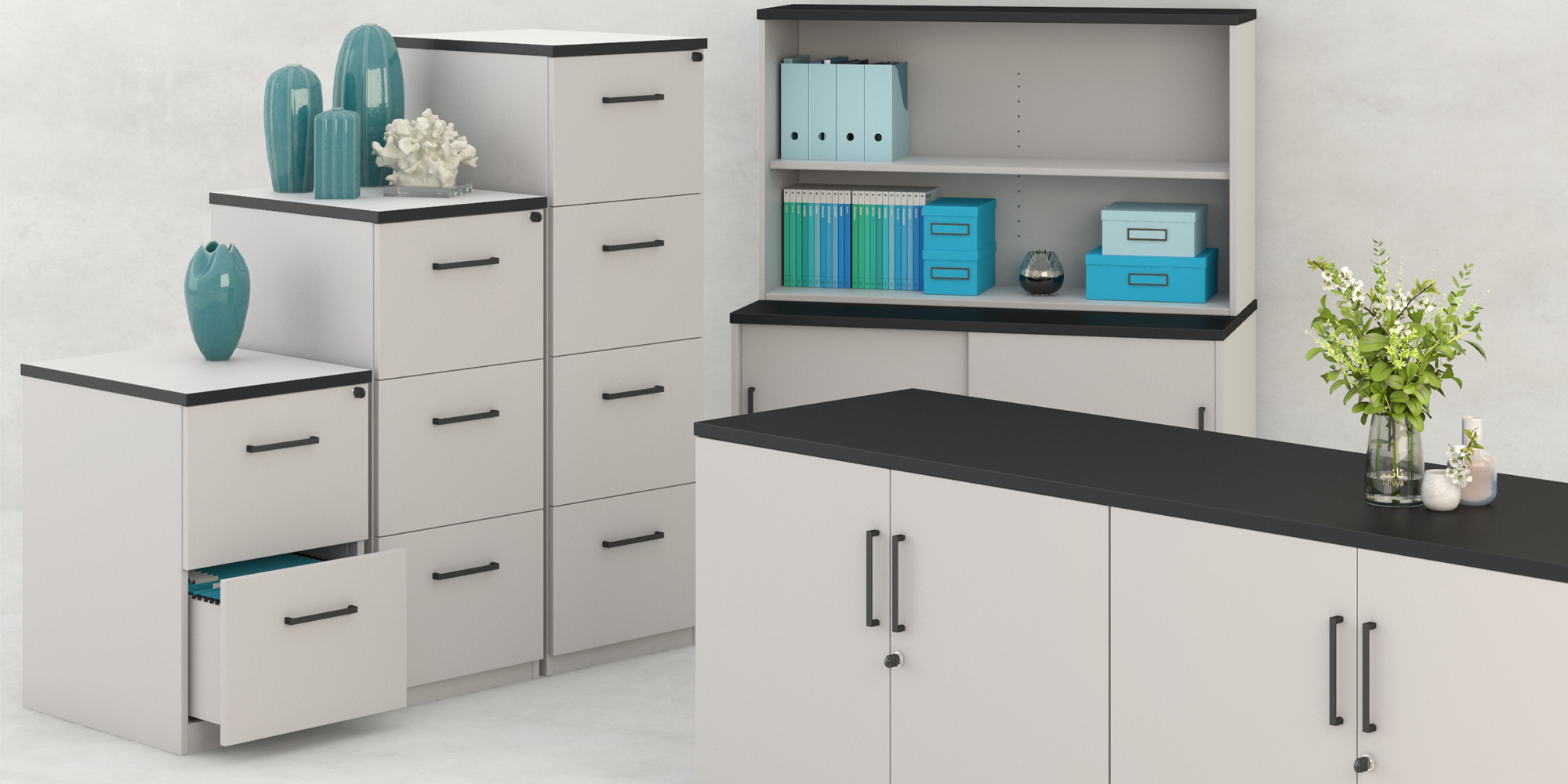 Home Storage Units Roomset