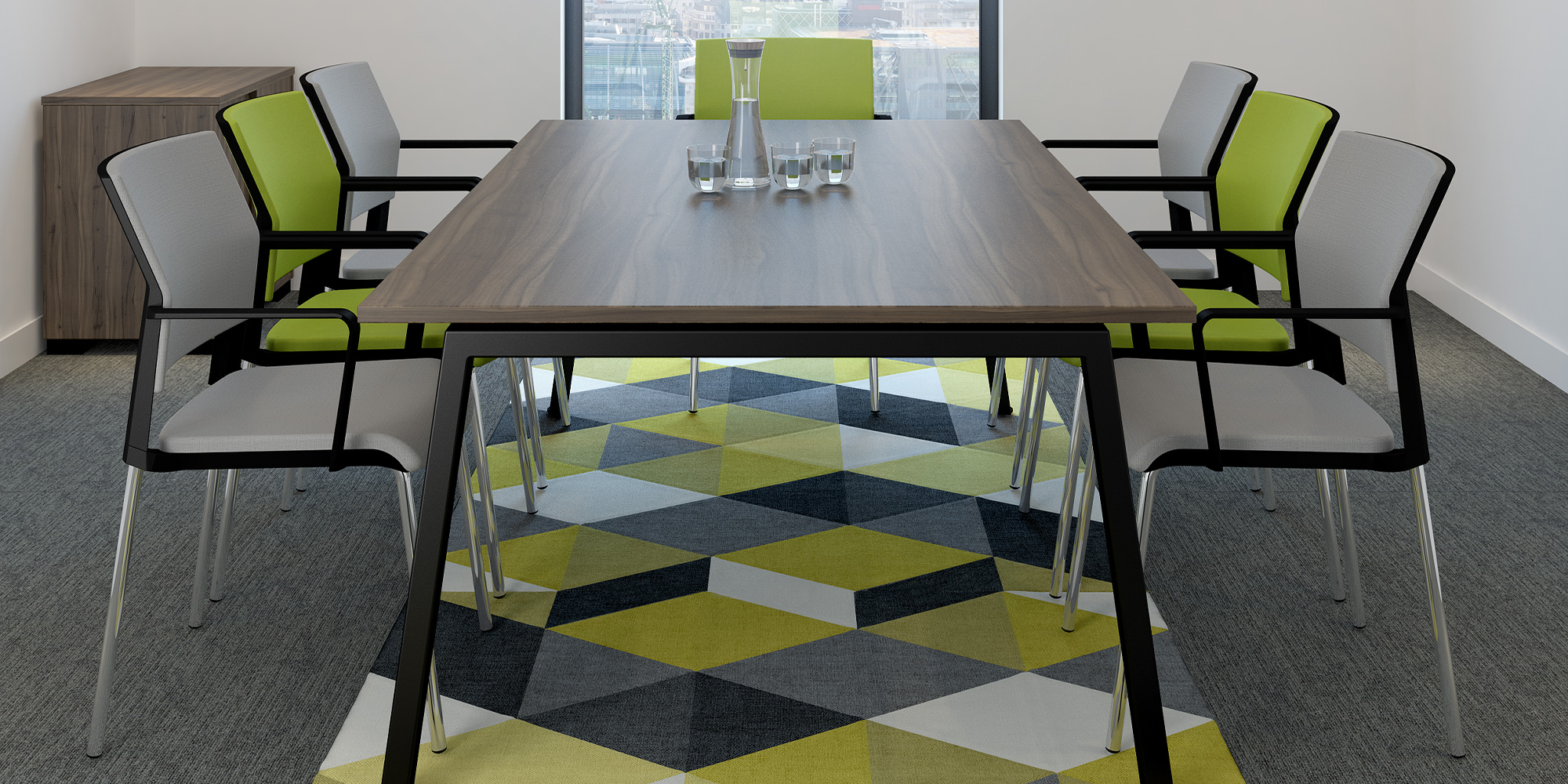 i-sit Meeting Chairs Roomset