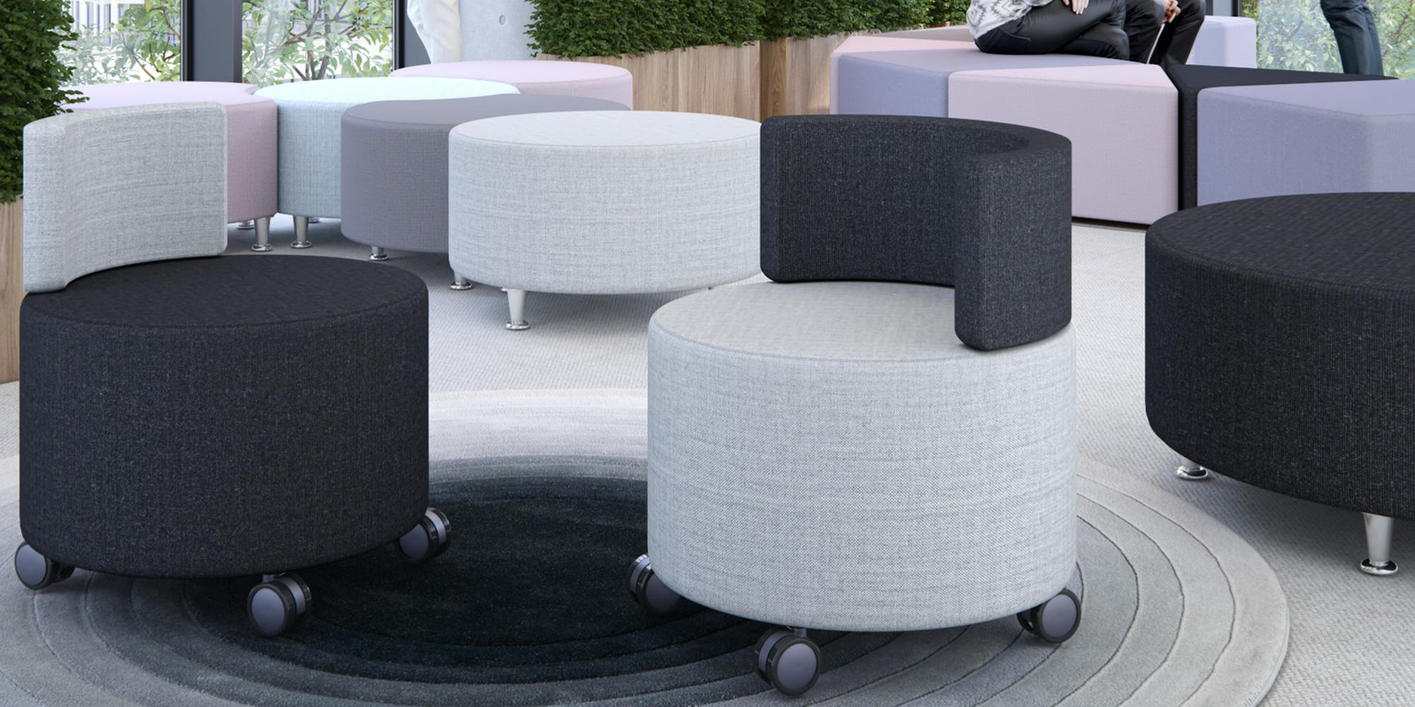 Adaptiv Modular Seating Roomset