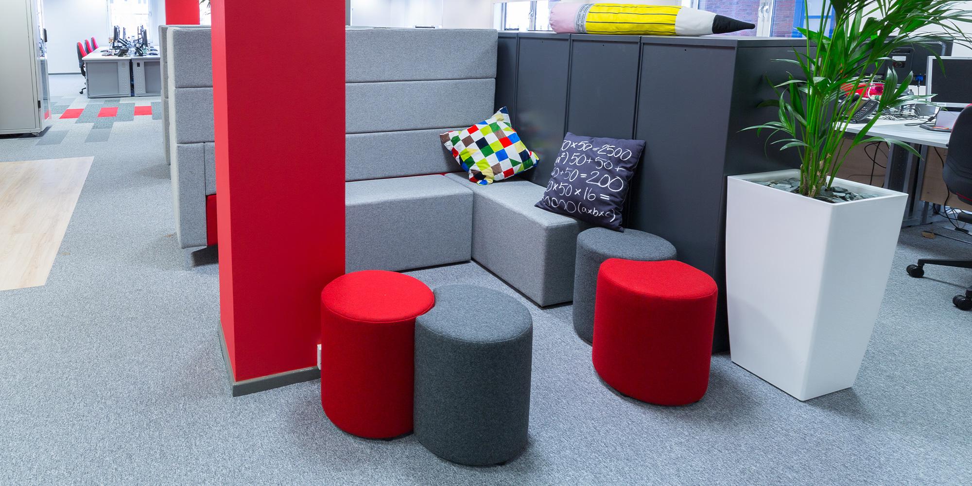 Segment Modular Seating Roomset