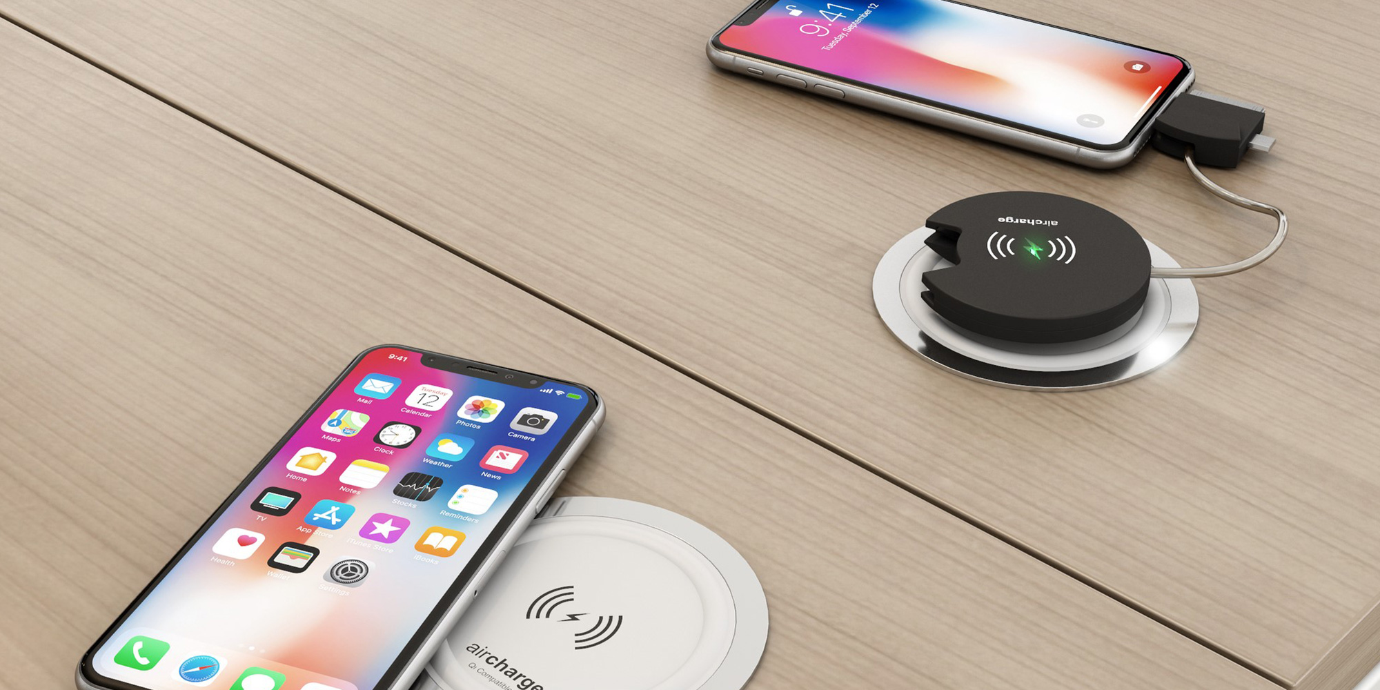 Wireless Charging Unit Power and Data Module Roomset