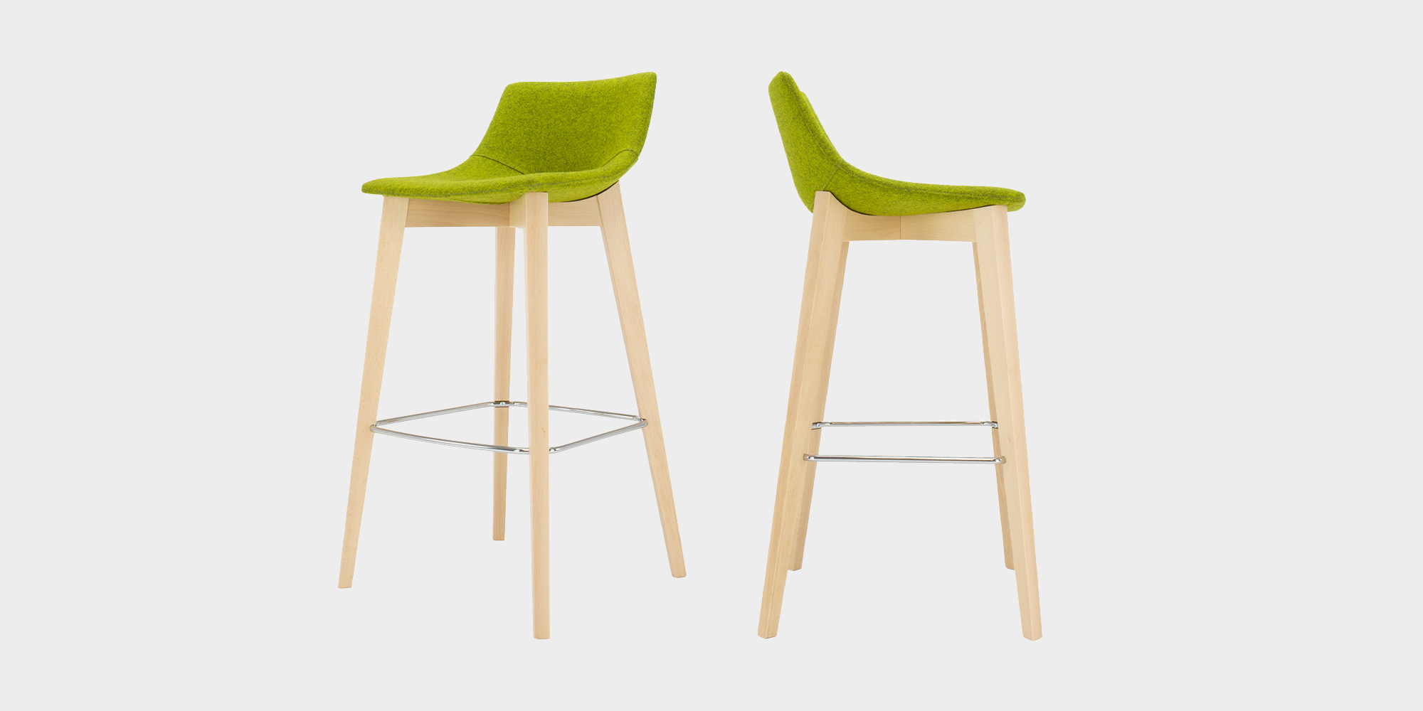 Escape Wood Stool Roomset