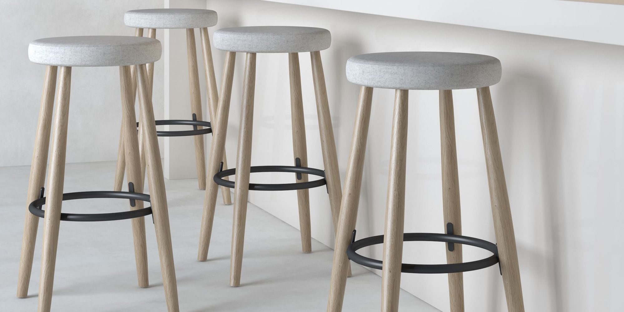 Perch Stool Roomset
