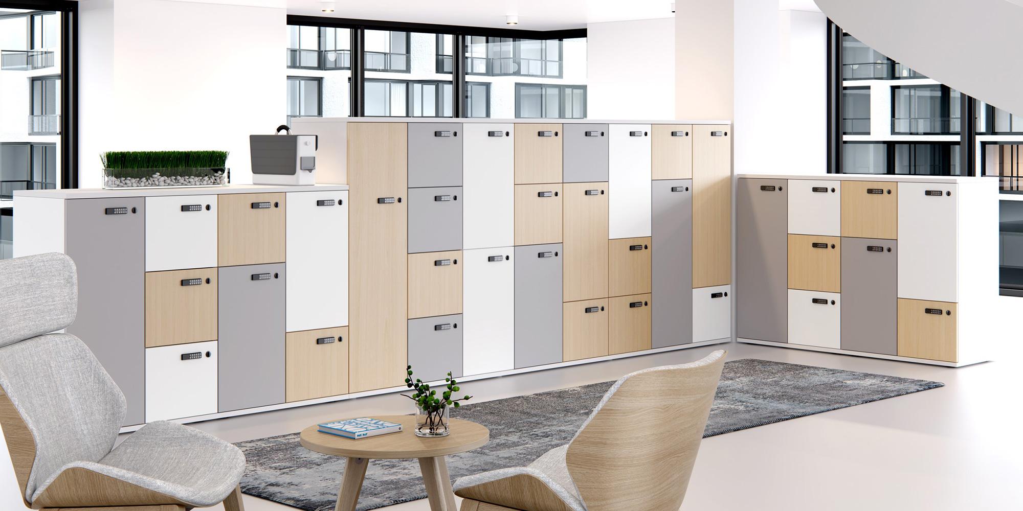 Modular Lockers Roomset