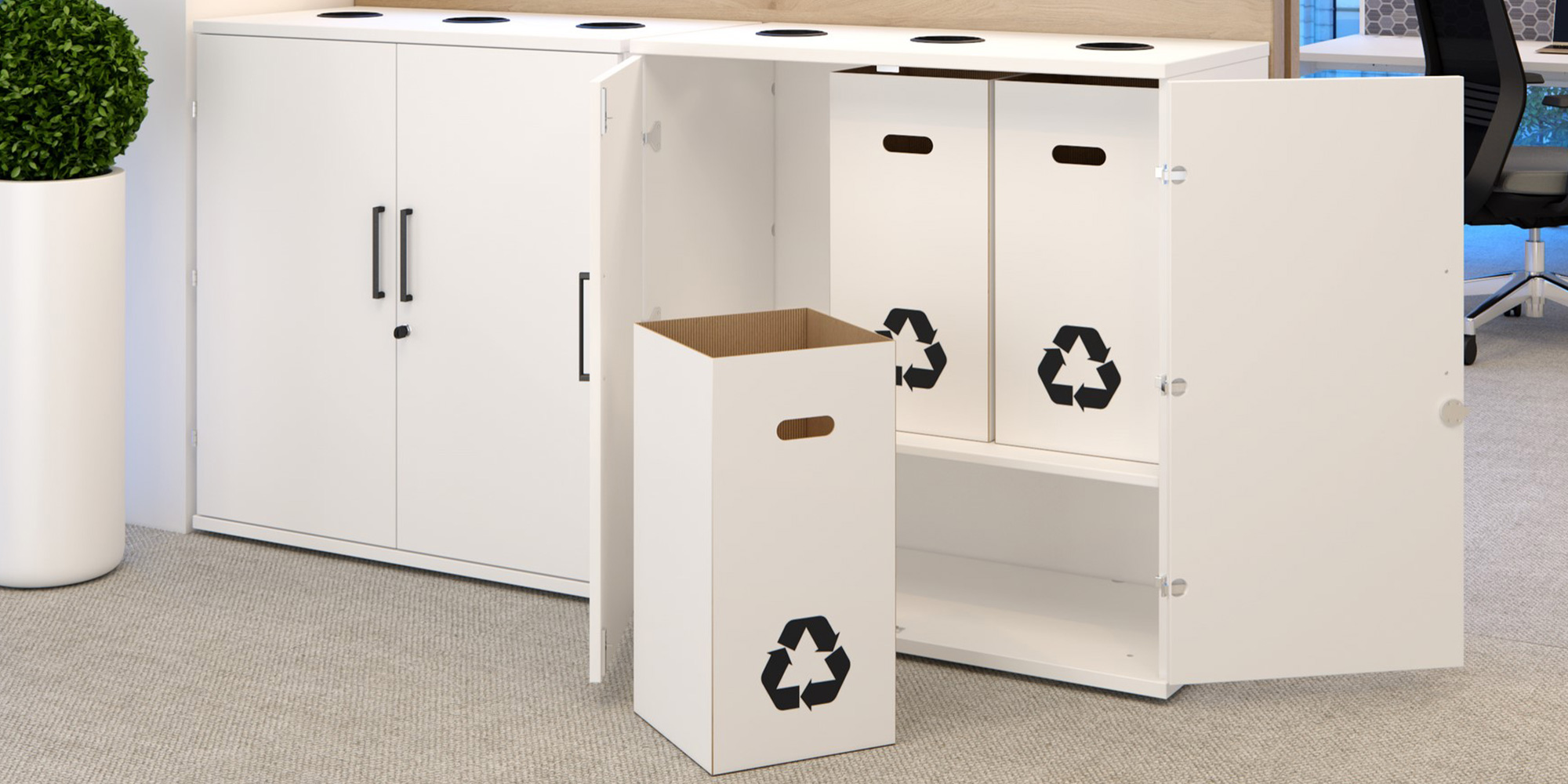 Recycling Units Roomset