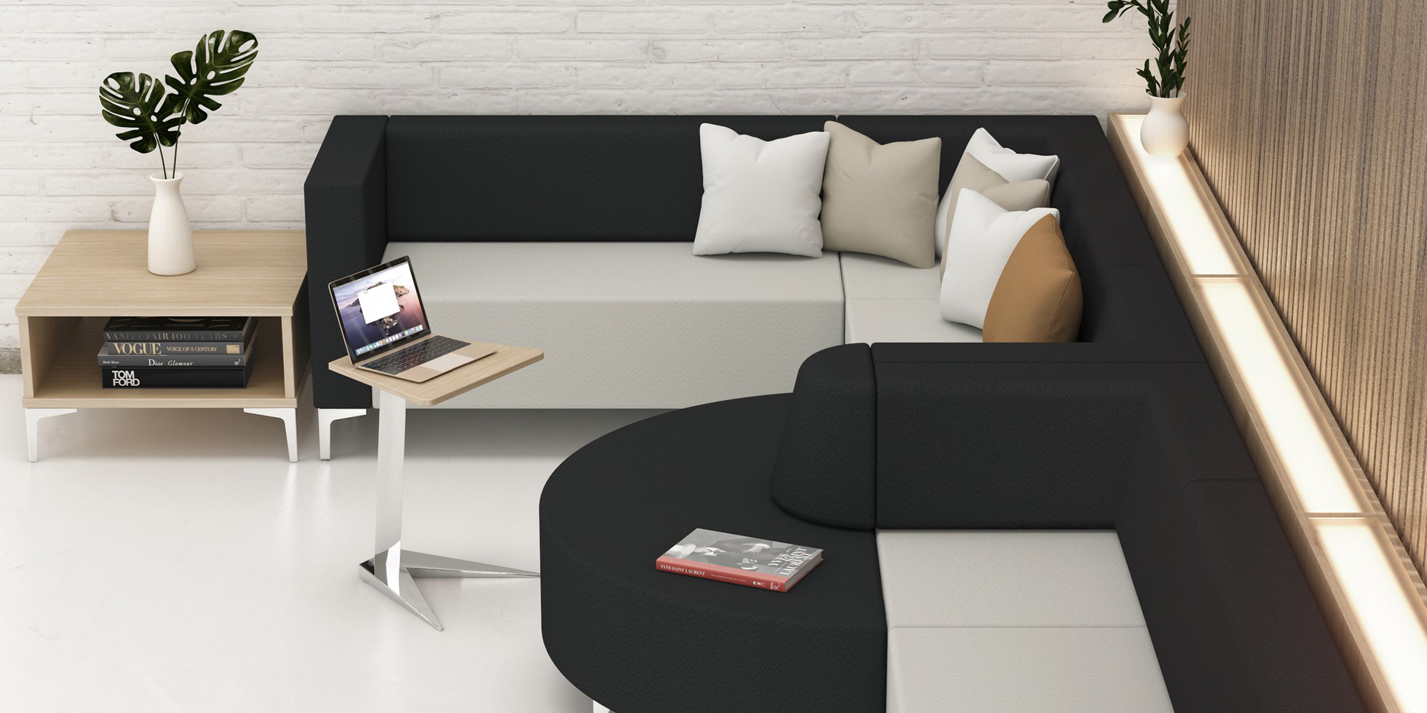 Computer and Laptop Tables Roomset
