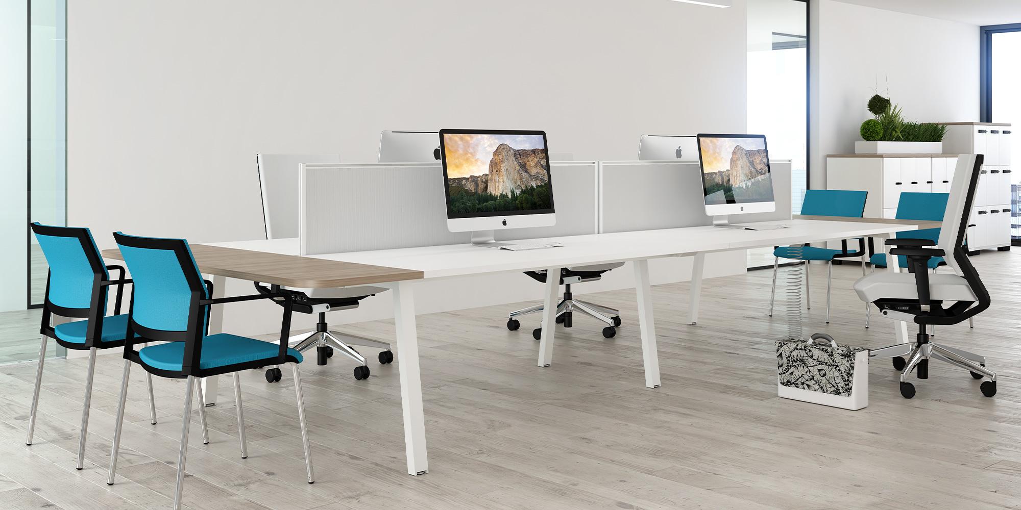 Desk Extensions Roomset