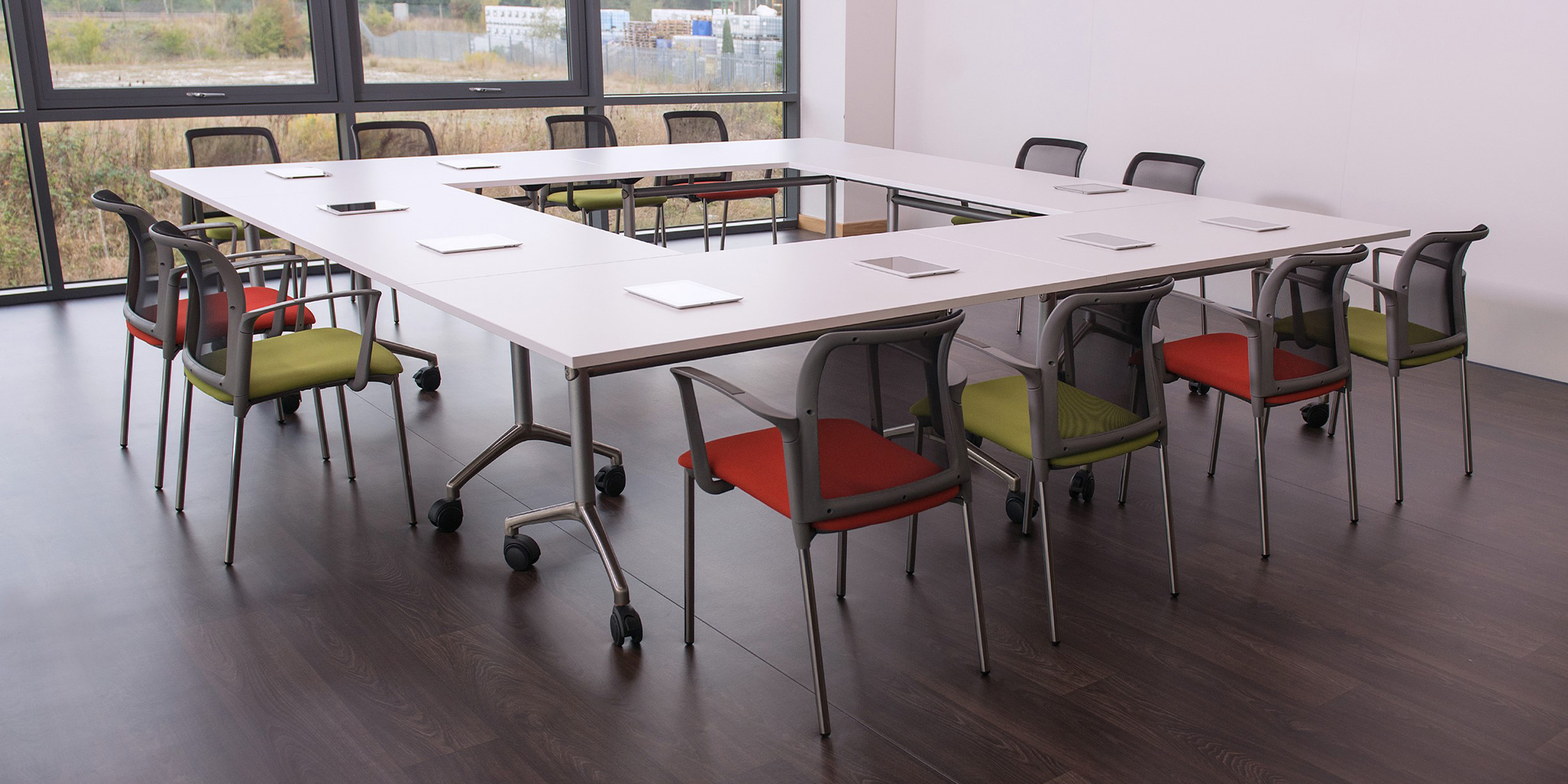 Fliptop and Folding Tables Roomset