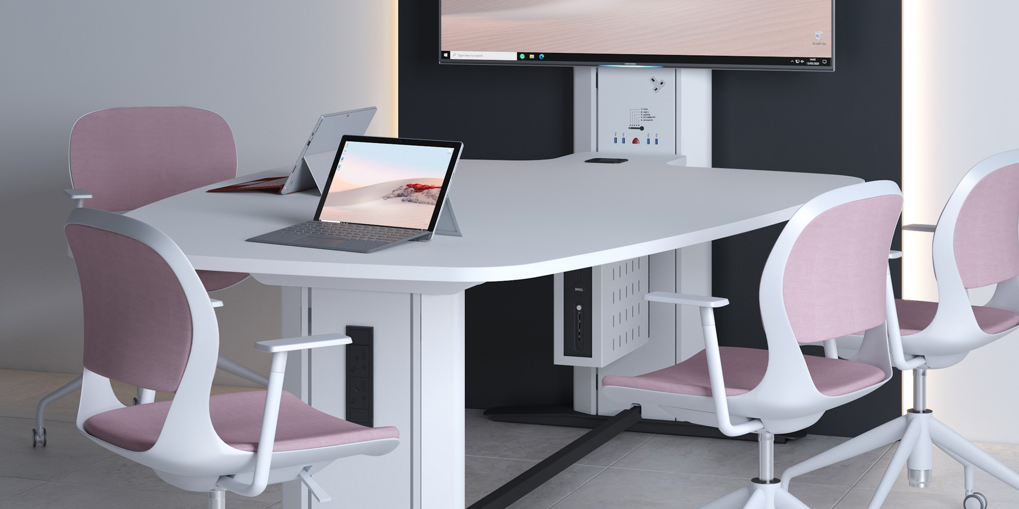 Interact Collaboration Table Roomset