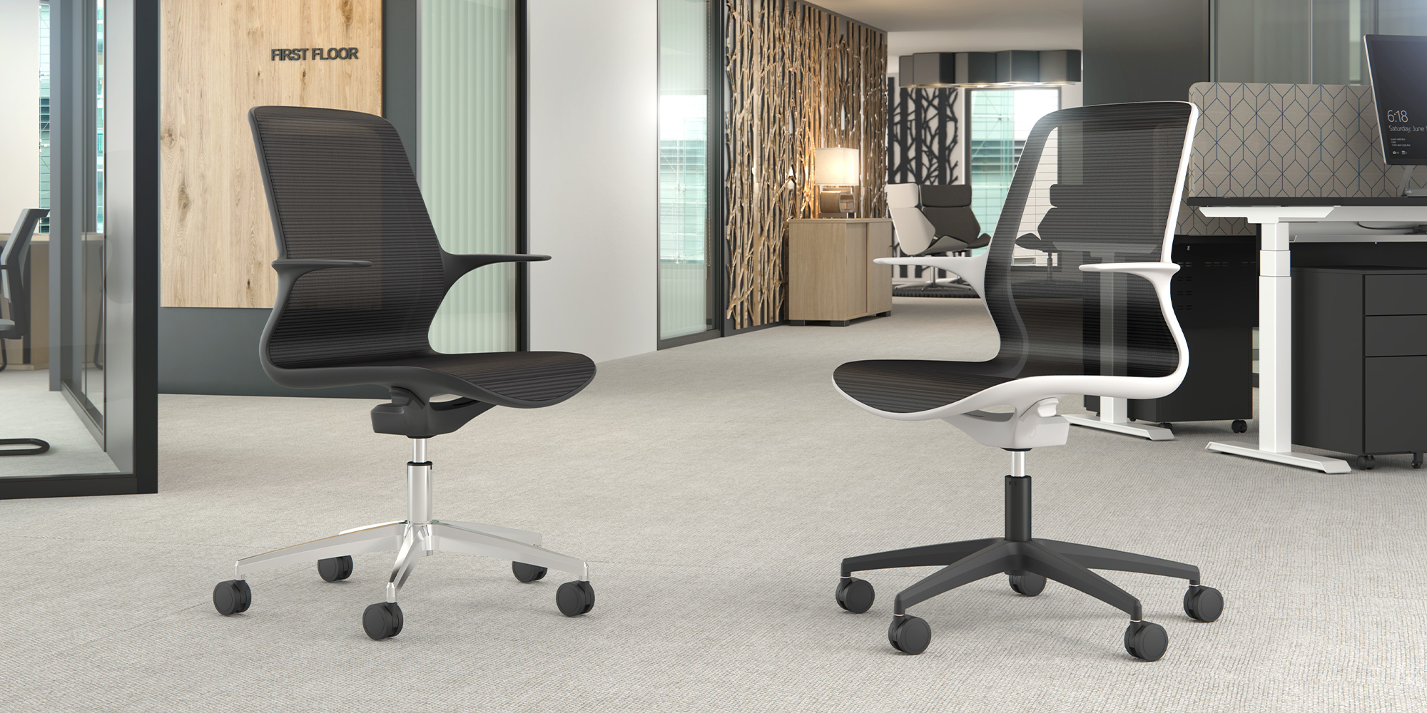 Tempo Task and Meeting Seating Roomset