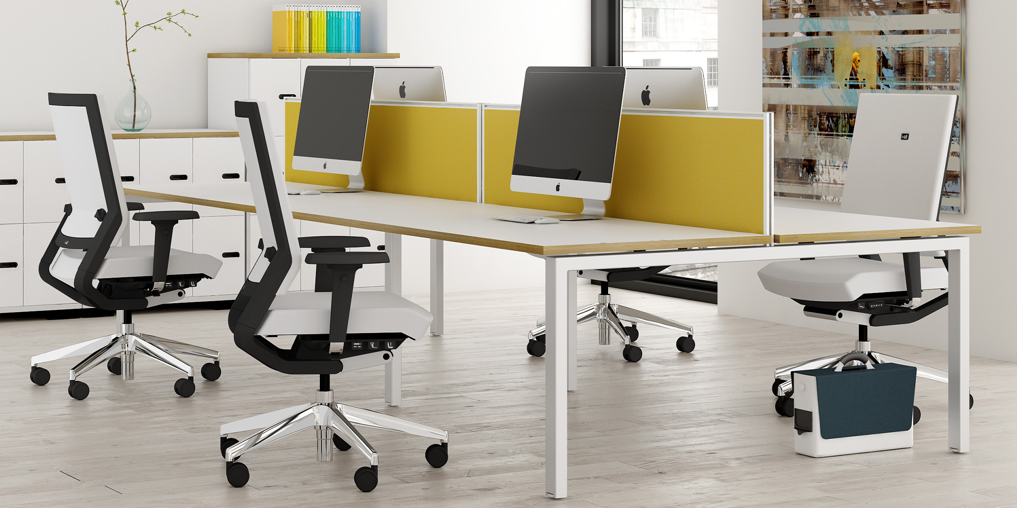 i-sit Task and Meeting Seating Roomset