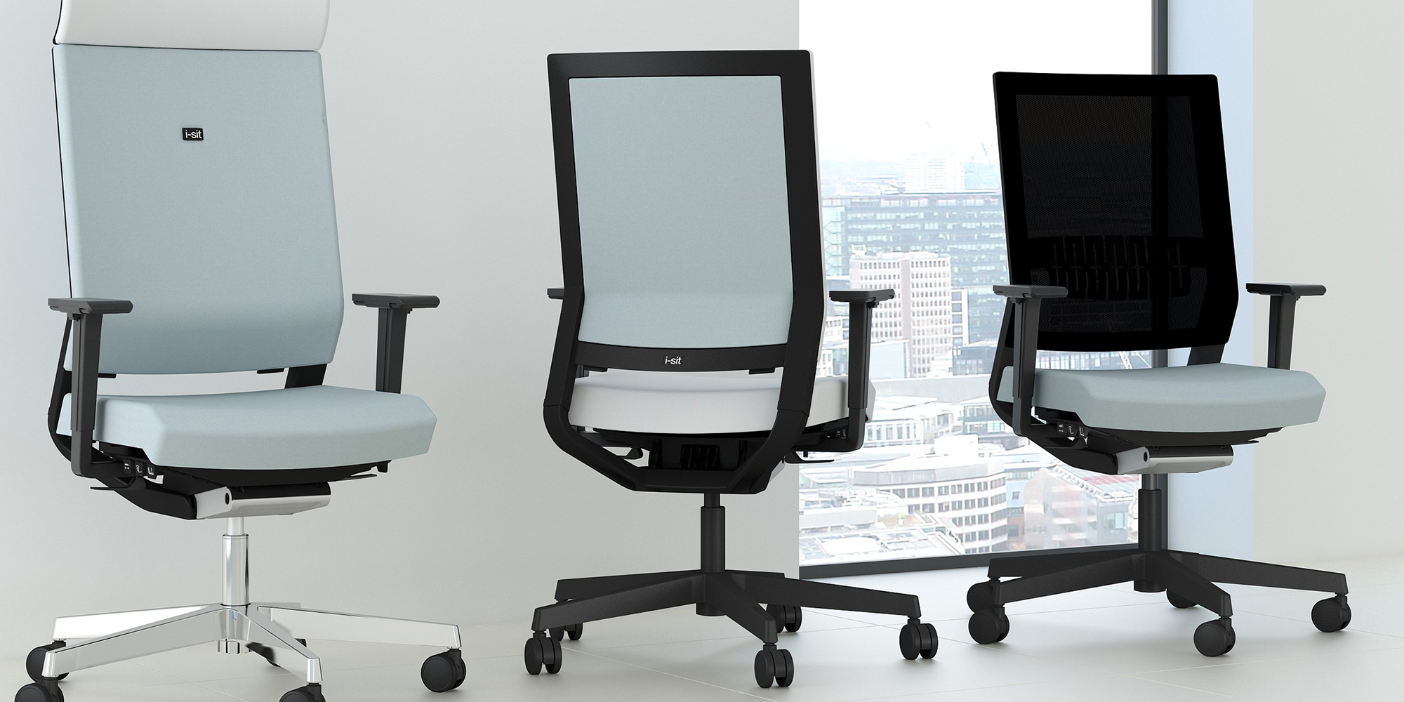 i-sit lite Task and Meeting Seating Roomset