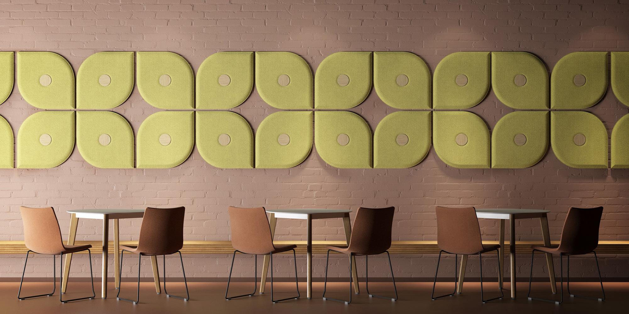 Hush Wall Mounted Panels Roomset